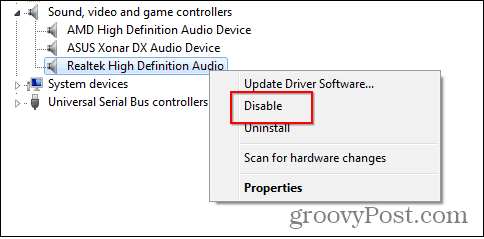 remove on-board card disable