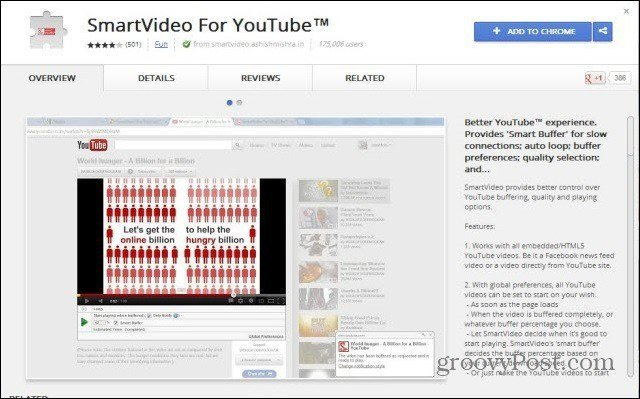 youtube smartvideo install