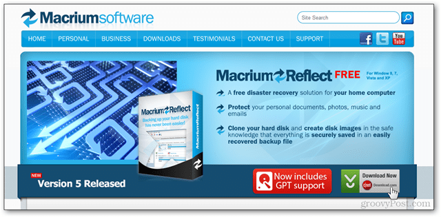 1 - macrium reflect website download