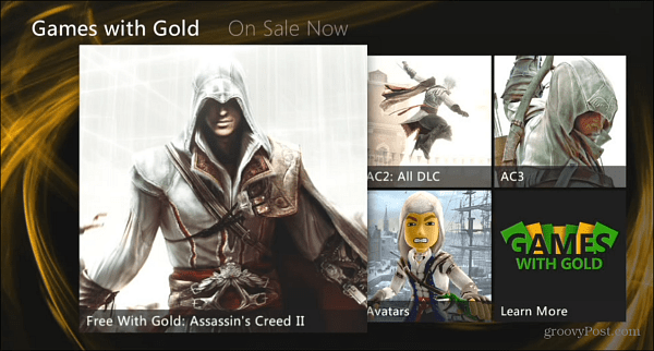 Xbox Live Gold Assassin's Creed II
