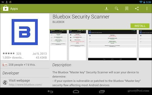 Blubox Security Scanner Google Play