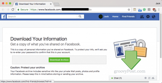 How To Download A Full Copy Of All Of Your Facebook Pictures