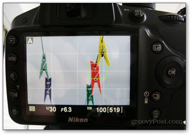 first photo setup tripod focus live view dslr f/6.3 6.3 nikon