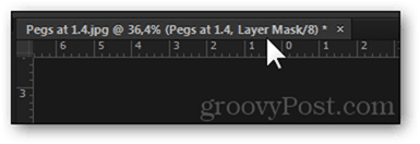 image tab layer mask indicator
