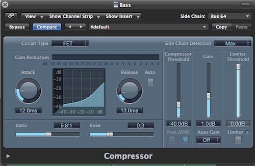 more compressor settings