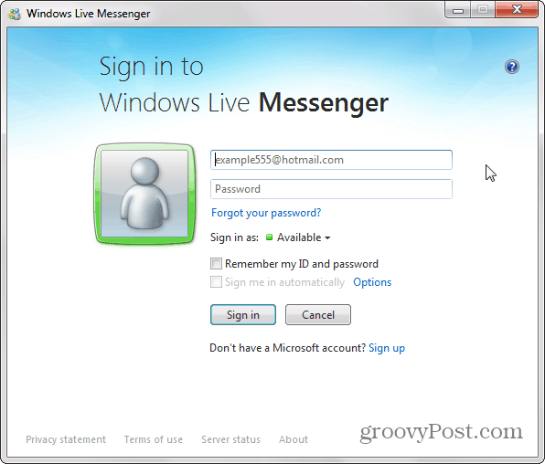 How To Get Windows Live Messenger Back