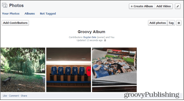 Facebook Shared Photo Albums Contributors Adding