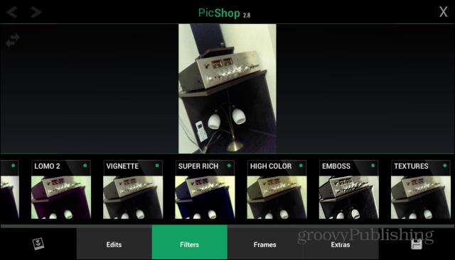 PicShop Android main