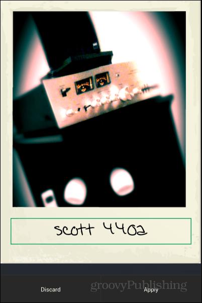 PicShop Polaroid Filter