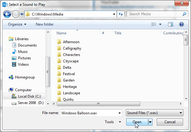 windows media ringtones