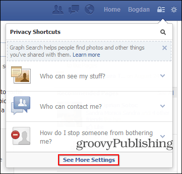 facebook game requests lock icon more settings
