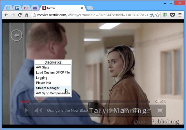 Netflix Hidden DIagnostics
