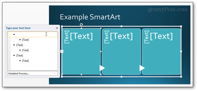 smartart smart art powerpoint power point 2013 inserted slide ready for editing edit