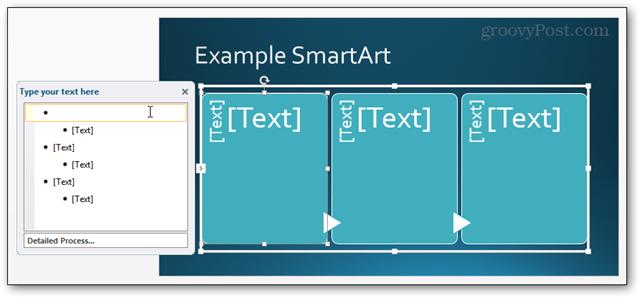 smartart smart art powerpoint power point 2013 inserted slide ready for editing edit