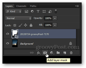 add layer mask button layers panel bottom mini shortcut button