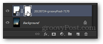 left click select layer mask photoshop clipped layer and layer mask layers panel photoshop