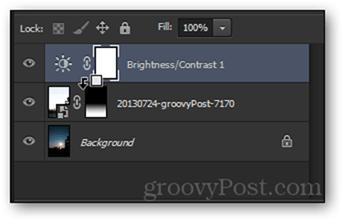 alt click clip to bottom layer adjustment layer clip photoshop