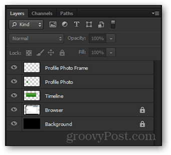 template layers facebook timeline psd photoshop