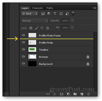 layer placement photoshop facebook timeline psd
