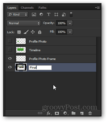 final rename layer photoshop facebook timeline project psd