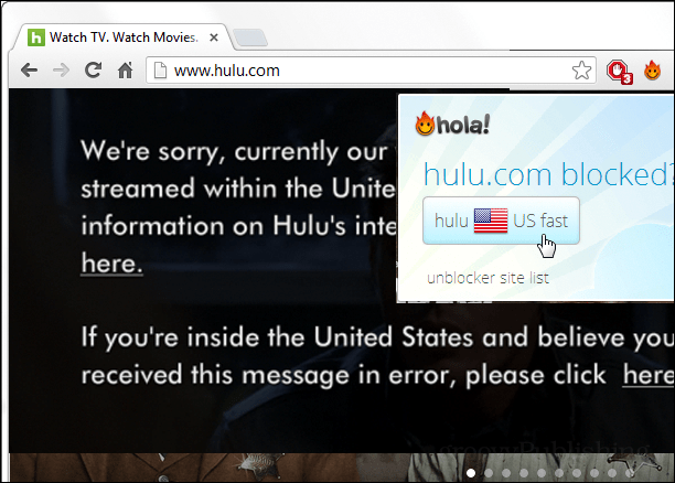 unblock hulu for your country