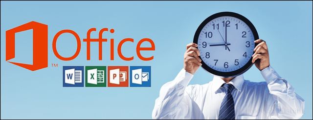ms office time tracking
