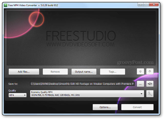 freestudio mp4 converter hd video convert sd file editing bitrate resolution quality