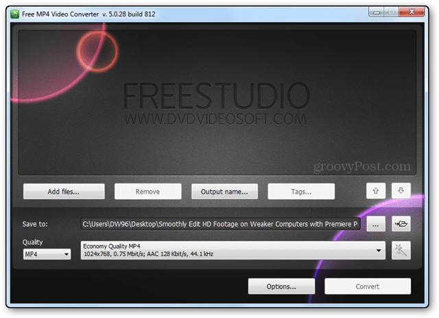 freestudio mp4 converter hd video convert sd file editing bitrate resolution quality
