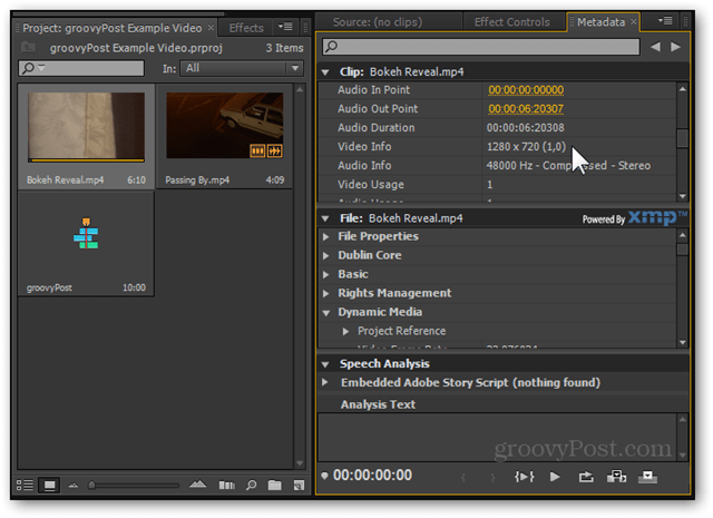 premiere pro cs5 cs6 video editing sd hd video edit weaker computers metadata 720p