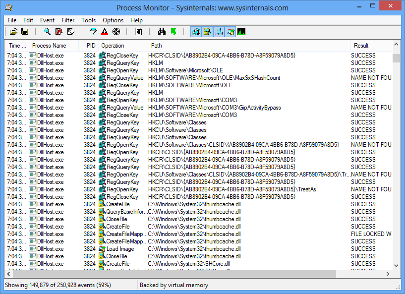 dllhost exe application: