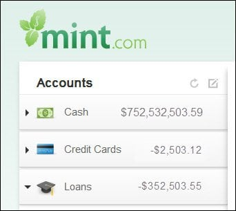 delete your mint.com account