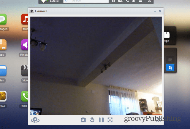 Airdroid camera