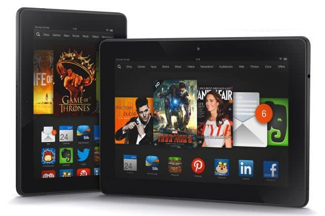 Amazon Kindle Fire HDX family