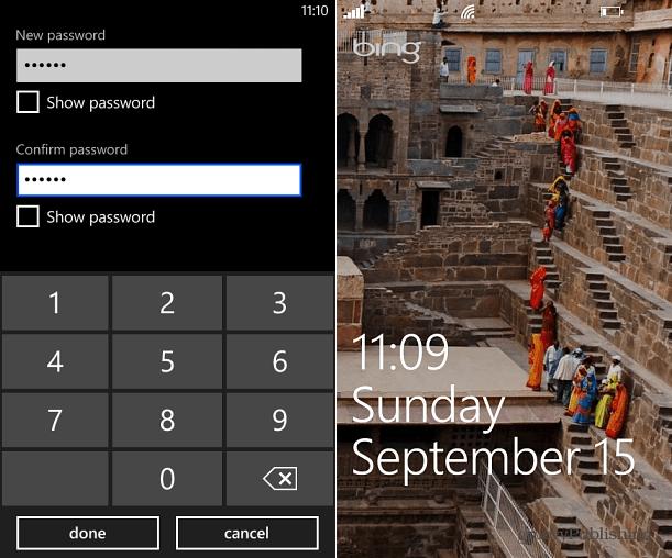 Customize Lock Screen