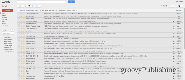 Gmail old style