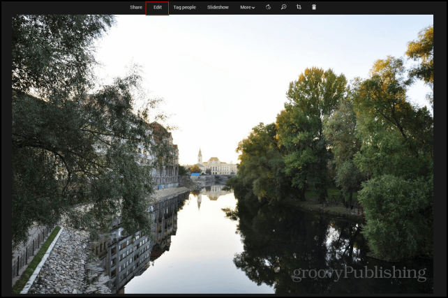 Google photo editing access photos edit