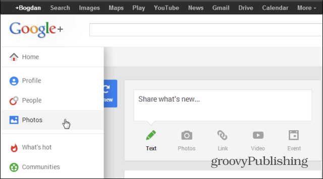 Google photo editing access photos