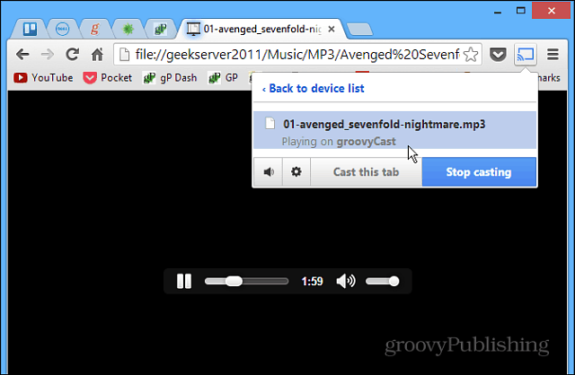 How To Play Your Own Media Files to Google Chromecast