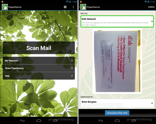 PaperKarma for Android