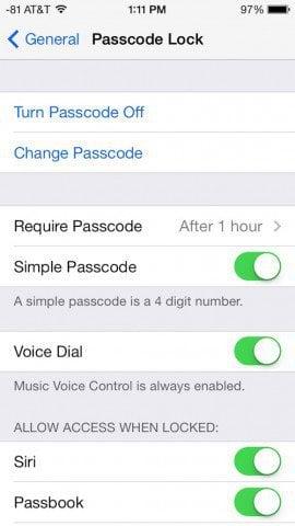 Passcode Lock iOS 7_2