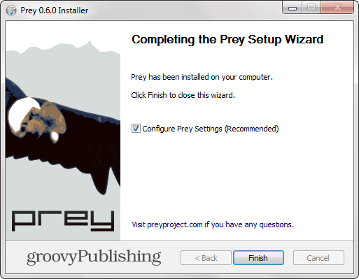 Prey Install
