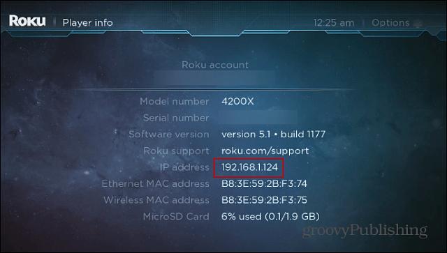 Roku IP