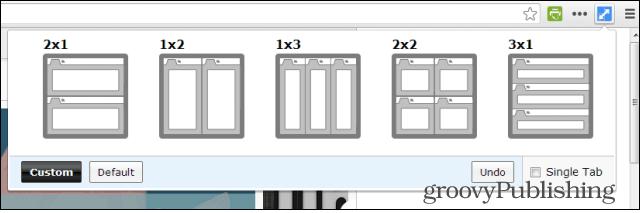 Split Screen Chrome