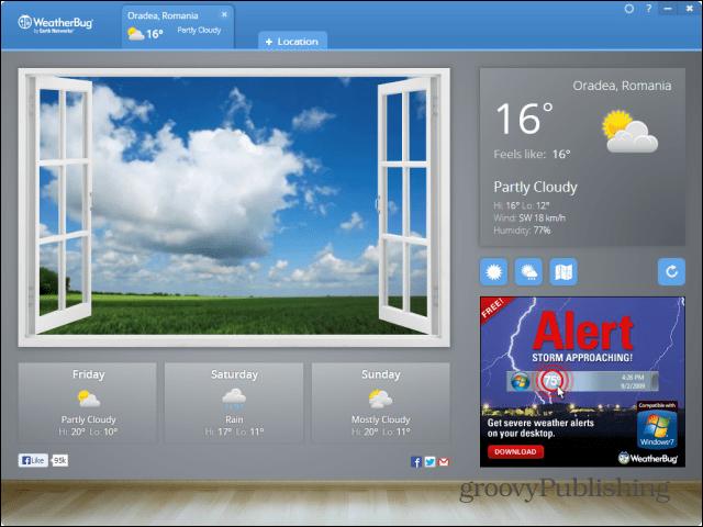 chrome apps desktop weatherbug