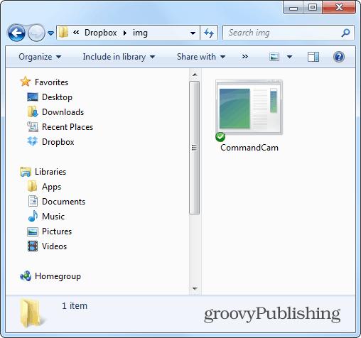 commandcam dropbox