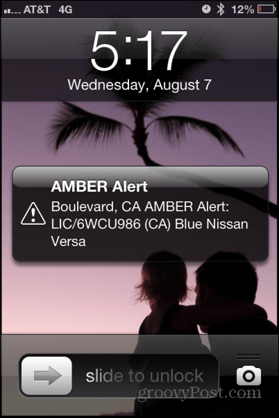 amber alert on iphone how to turn alerts on an iphone 1225
