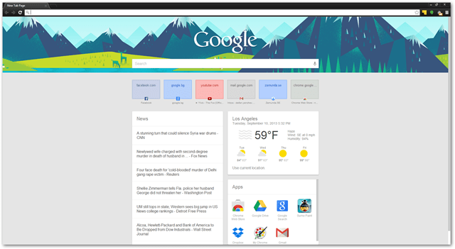 chrome extension new tab websites weather search apps news function settings customize chrome store download free browser enhance new tab page settings new tab page
