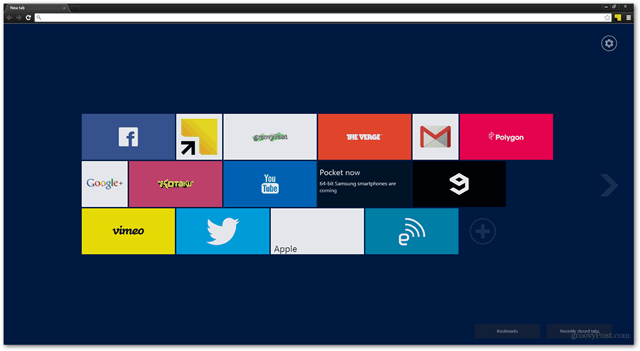 chrome extension new tab websites weather search apps news function settings customize chrome store download free browser enhance new tab page settings windows 8 metro tiles modern new tab page extension live tiles rss feed update
