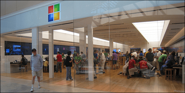 Microsoft Store Buying iPads