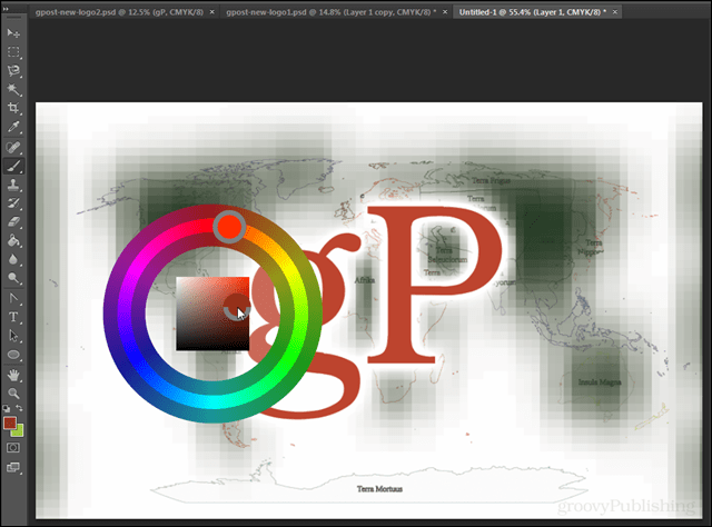 How To Add The Color Wheel In Photoshop Cs6